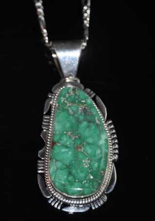 from set and pendant nepal bezel h olive green silver sterling turquoise products